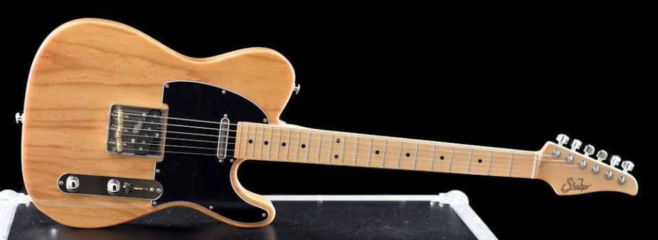 Suhr  Classic T Swamp Ash, Maple Neck