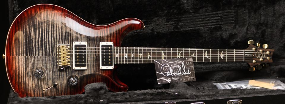 PRS  Custom 24 Flame Maple 10 Top Flame Maple Neck