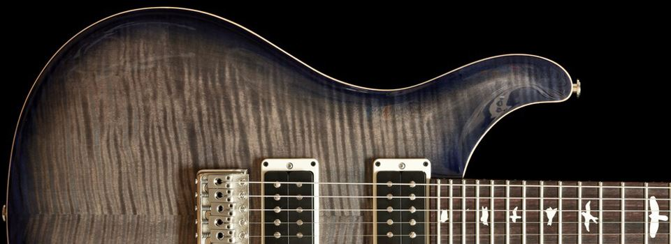 PRS  CE24 Faded Grey Black Purple Burst