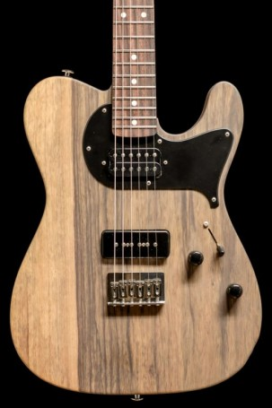 Suhr  Custom Classic T, Black Limba, Natural
