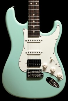 Suhr  Classic Pro, Surf Green, Indian Rosewood, HSS