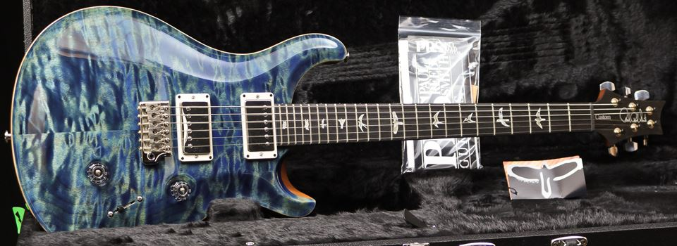 PRS  Custom 24 Quilt Maple Ltd Ed 2017 River Blue