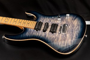 Suhr  Modern Plus, trans whale blue burst, roasted maple HSH preorder