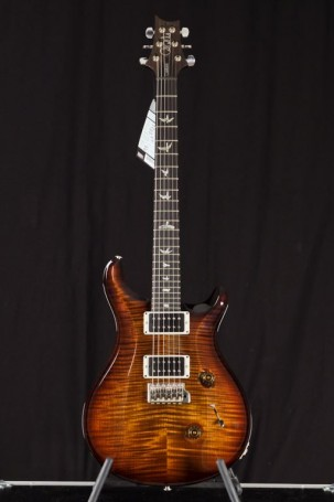 PRS  Custom 24 Black Gold Burst Pattern Thin