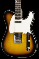 Fender Custom shop  60 Double Bound Telecaster Lush Closet Classic Two Tone SB MN