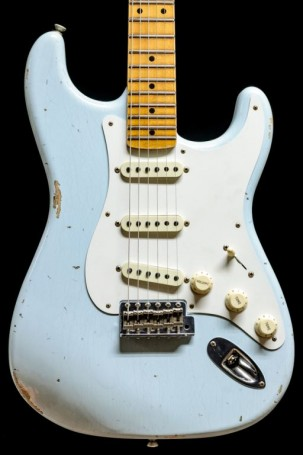 Fender Custom shop  1956 Relic Stratocaster LTD ED Faded Sonic Blue
