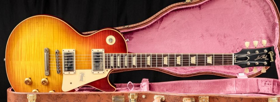 Gibson Custom  60th Anniversary 1959 Les Paul Standard VOS Orange Sunset Fade