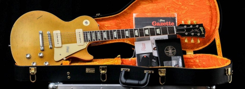 Gibson Custom  68 Les Paul Std 50th Anniversary Heavy Aged 60s Gold