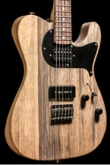 Custom Classic T, Black Limba, Natural