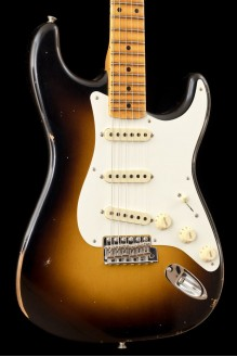 1956 Stratocaster Relic MN Faded Aged 2-Color Sunburst