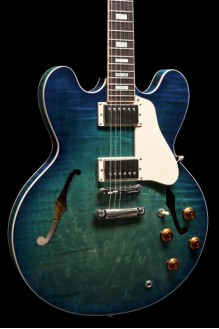 ES-335 Figured Aquamarine 2018