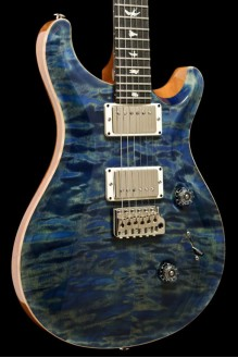 Custom 24 Quilt Maple Ltd Ed 2017 River Blue