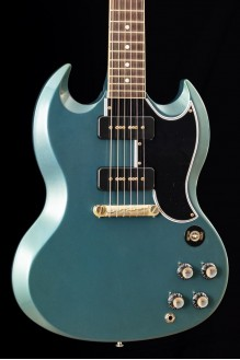 63 SG Special Reissue Antique Metallic Teal w/Lightning Bar