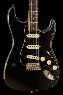 Roasted Poblano Stratocaster Relic Ltd Ed Aged Black