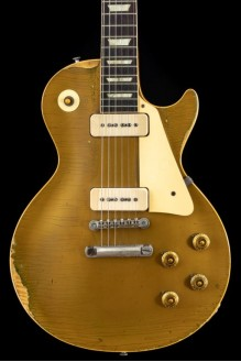 Gibson Les Paul with P-90 Pickups Goldtop 1957 Fully Original with OHSC