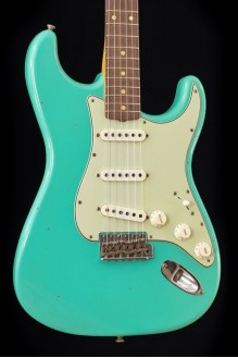 #1 limited edition '62/'63 Stratocaster journeyman relic, aged sea foam green