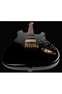 Mateus Asato HSS Black Gold Hardware Roasted MN