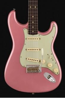 1960 Stratocaster custom-built ltd journeyman relic faded aged burgundy mist