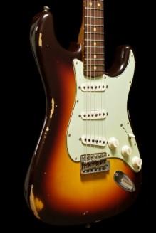 62 Stratocaster Relic Choc