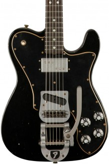 Limited edition '70s Telecaster custom, journeyman relic, black preorder