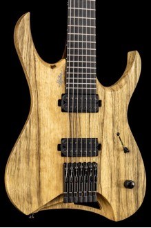 Hydra 7 Black Limba Natural