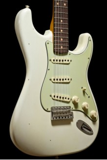 59 Strat Vintage Custom Relic Closet Classic aged olympic white