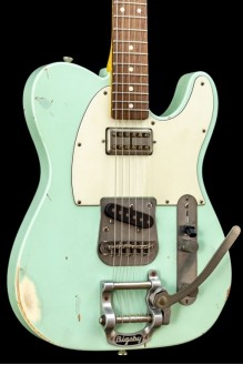 T63 Relic Surf Green Lollartron  Bigsby