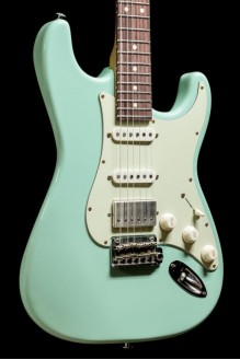 Classic S Antique, Roasted Body and Neck, Surf Green