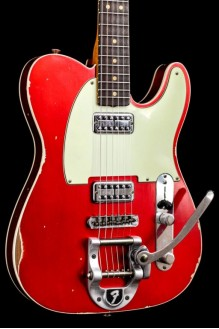Double TV Jones Telecaster w/Bigsby Candy Apple Red