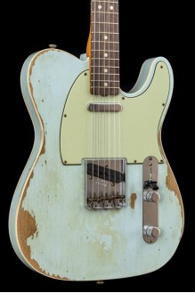63 Double Bound Telecaster Heavy Relic Sonic Blue
