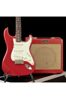 1959 Strat Relic and Pro Junior Relic Guitar/Amplifier Set (USED, mint)