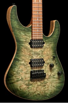 Modern Black Limba NAMM Select 2018 Waterfall Burl