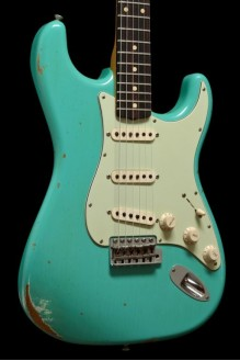 '60 Stratocaster Relic Sea Foam Green