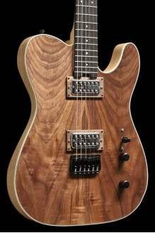 Turmaline - Cabronita style, Swamp Ash, Walnut Top, TV Jones