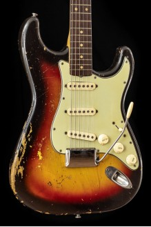 vintage 1963 Stratocaster 3TSB, the real thing