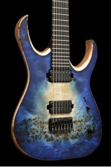 Duvell 7 Elite Trans Natural Faded Blueburst Asteroid Ring