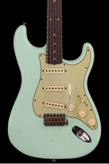 #136 LTD '60 Stratocaster - Journeyman relic, faded aged surf green preorder