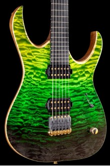 Duvell Elite 6 5A Quilted Maple Green Horizon