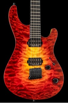 Regius 6 w/ 4A Quilted Maple Top Lava Burst