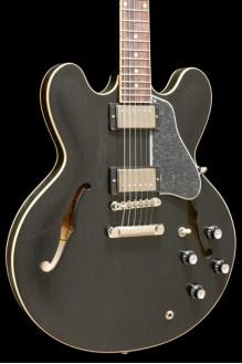 Gibson ES-335 Satin Trans Black