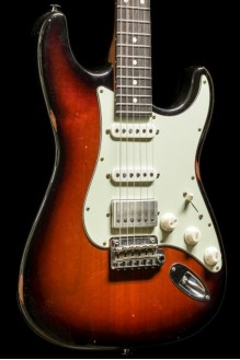 Classic S Antique LTD, Roasted Body and Neck, 3 Tone Burst