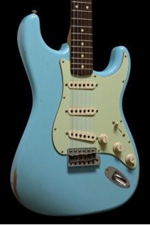 '60 Stratocaster Relic Daphne Blue