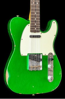 63 Telecaster Relic Candy Green Rw