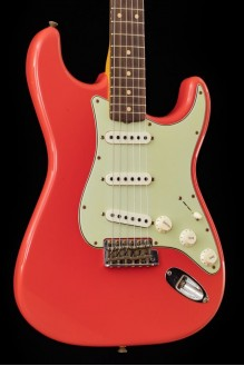 #3 limited edition '62/'63 Stratocaster journeyman relic, aged fiesta red
