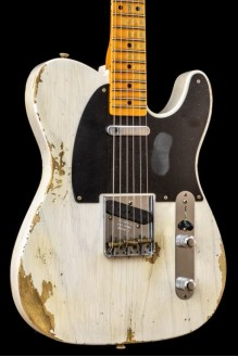 52 Telecaster Heavy Relic White Blonde MN