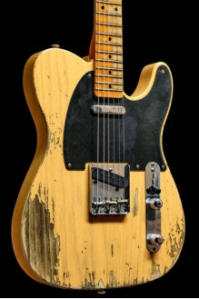 52 Telecaster Heavy Relic Butterscotch Blonde