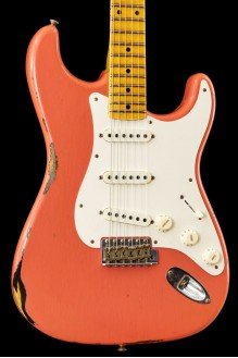 50s Stratocaster Journeyman Relic Faded/Aged Tahitian Coral Over 2TSB