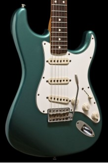 60s Duo Tone Strat Relic 2012 Sherwood Green USED