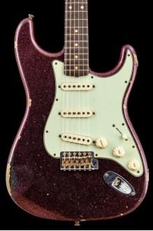 W20 Ltd 1961 Stratocaster Relic Aged Magenta Sparkle