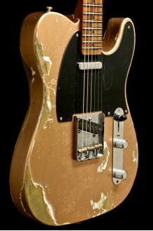 Nocaster Telecaster Heavy Relic Faded Copper